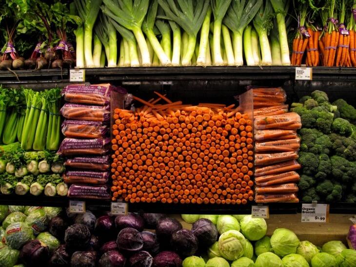 Некоторые овощи можно хранить от 2 до 6 месяцев