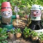 Создавая сад, его хозяин стремится сделать своё произведение не только красивым, но и оригинальным