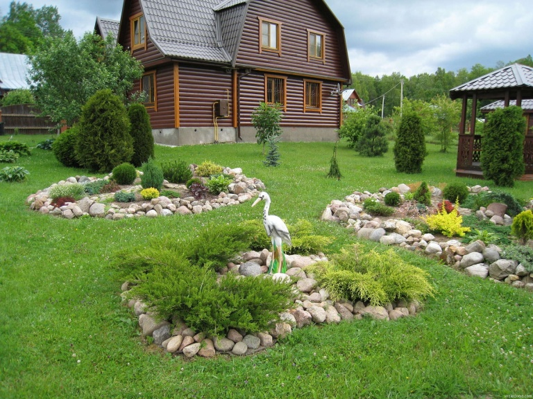 Как оформить садовые участки