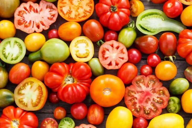 Яркие сорта томатов на ваш вкус