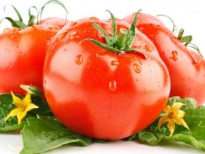 помидоры с дачи