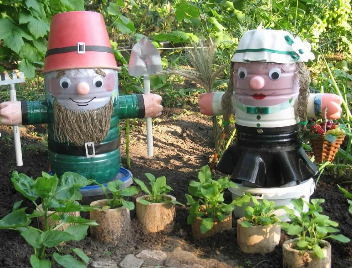 Изюминка сада — поделки для дачного участка своими руками