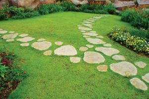 Вариант садовой дорожки