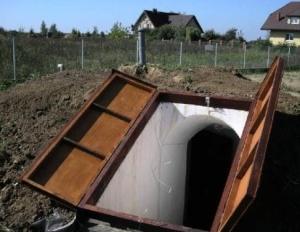 Подземный погреб