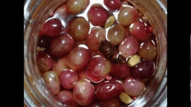 Использование урожай винограда
