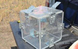 Квадратный контейнер для арбуза