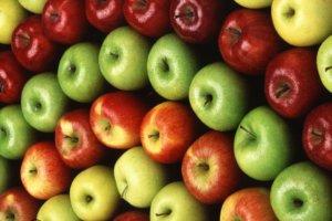 Прекрасно сохраненный урожай яблок